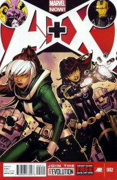A+X (2012) -2- Issue 2