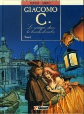 Giacomo C. -1a- Le masque dans la bouche d'ombre