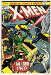 Uncanny X-Men (The) (1963) -84- Mekano lives