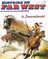 Histoire du Far West -33- Le transcontinental