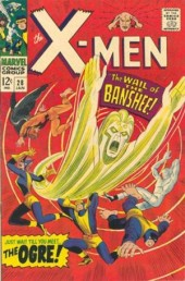 Uncanny X-Men (The) (1963) -28- The Wail of the Banshee