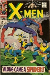 Uncanny X-Men (The) (1963) -35- Along came a spider