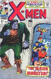 Uncanny X-Men (The) (1963) -40- The mark of the monster