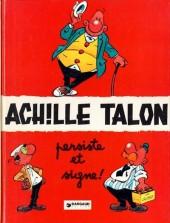 Achille Talon -3c78- Achille Talon persiste et signe !