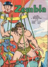 Zembla -216- Le vol de la mouette