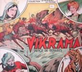 À travers le monde (1re série) -1- Vikrama princesse de Benarès