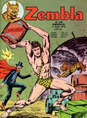Zembla -256- Le prisonnier de Satanik