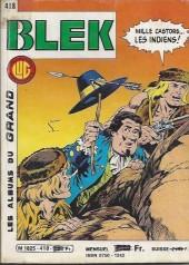Blek (Les albums du Grand) -418- Numéro 418
