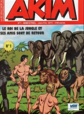 Akim (3e série) -1- Le roi de la jungle et ses amis sont de retour
