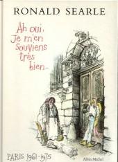 Ah oui, je m'en souviens très bien... - Paris 1961-1975