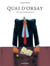 Quai d'Orsay -INT- Chroniques diplomatiques