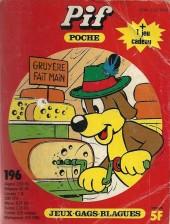 Pif Poche -196- Pif en Suisse