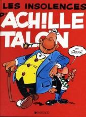 Achille Talon -7c89- Les insolences d'achille talon