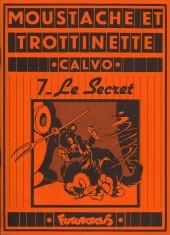 Moustache et Trottinette (Futuropolis) -7- Le Secret