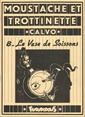 Moustache et Trottinette (Futuropolis) -8- Le Vase de Soissons