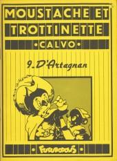 Moustache et Trottinette (Futuropolis) -9- D'Artagnan