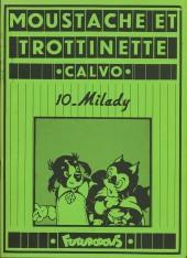 Moustache et Trottinette (Futuropolis) -10- Milady
