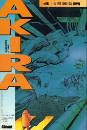 Couverture de Akira (en italien) -4- Il re dei clown