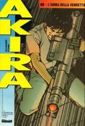 Akira (en italien) -8- L'arma della vendetta