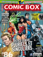 Comic box (1° série) -86- Justice league : pluriels et singuliers