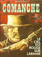Comanche -4a80- Le ciel est rouge sur Laramie