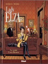 Couverture de Lady Elza -2- La vente Coco Brown