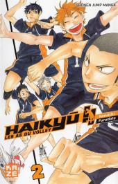 Haikyu !! Les As du Volley -2- Tome 2
