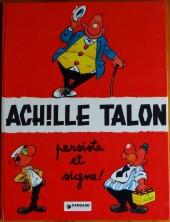 Achille Talon -3b74- Achille talon persiste et signe