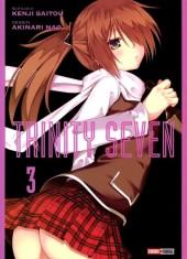 Trinity Seven -3- Tome 3