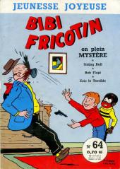 Bibi Fricotin (3e Série - Jeunesse Joyeuse) (1) -64- Bibi Fricotin en plein mystère