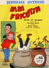 Bibi Fricotin (3e Série - Jeunesse Joyeuse) -66- Bibi Fricotin joue et gagne