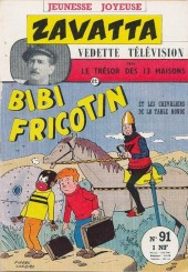 Bibi Fricotin (3e Série - Jeunesse Joyeuse) -91- Bibi Fricotin et les chevaliers de la Table Ronde