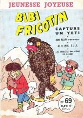 Bibi Fricotin (3e Série - Jeunesse Joyeuse) -69- Bibi Fricotin capture un Yéti