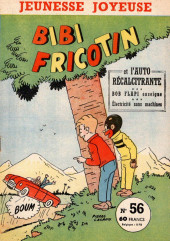Bibi Fricotin (3e Série - Jeunesse Joyeuse) (1) -56- Bibi Fricotin et l'auto récalcitrante