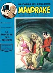 Mandrake (1e Série - Remparts) (Mondes Mystérieux - 1) -408- Le monstre des neiges