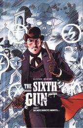 Sixth Gun (The) -1- De mes doigts morts...