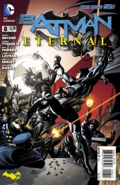 Couverture de Batman Eternal (2014)  -8- Guided by Darkness