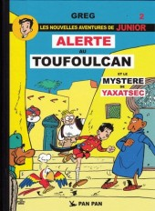 Luc Junior (les nouvelles aventures de) -2- Alerte au toufoulcan et le mystère de yaxatsec