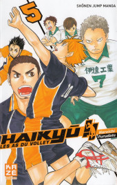 Haikyu !! Les As du Volley -5- Tome 5