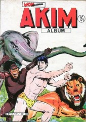 Akim (1re série) -REC121- Album N°121 (du n°605 au n°608)
