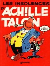 Achille Talon -7b82- les insolences d'Achille Talon