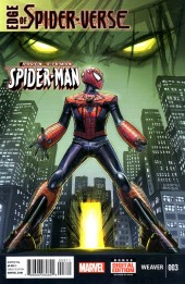 Couverture de Edge of Spider-Verse (2014) -3- Aaron Aikman the Spider-Man