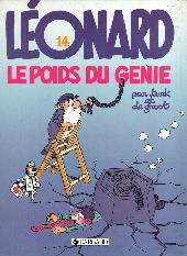 Léonard -14- Le poids du génie
