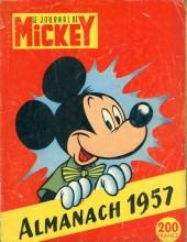 Almanach du Journal de Mickey -1- Année 1957