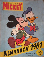 Almanach du Journal de Mickey -5- Année 1961