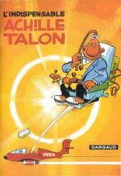 Achille Talon (Publicitaire) -5pizza hut- L'indispensable Achille Talon