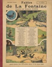 Les fables de La Fontaine (Rabier) -2- Deuxième Partie