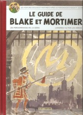 Blake et Mortimer (Divers) -Soir- Le Guide de Blake et Mortimer - Les Personnages de la série - Londres vu par les héros