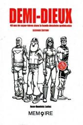 (DOC) Études et essais divers - Demi-dieux - 40 ans de super-héros dans la bande dessinée québécoise