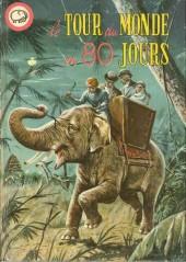 Votre série Mickey (2e série) - Albums Filmés ODEJ -REC- le tour du monde en 80 jours - Jim La Jungle et les chasseurs d'éléphants